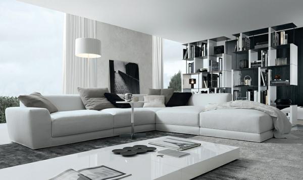 dreams4home polstersofa ocean sofa wohnzimmer blau couch .