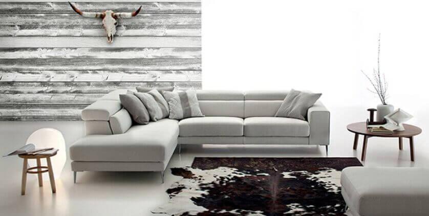 Wohnzimmer schwarz-weiß: weißes Sofa vs. schwarzes Sofa - the .