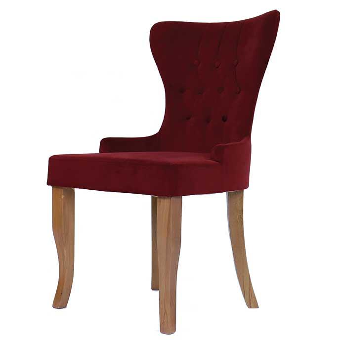 Moderner Designer Stuhl Wohnzimmer weicher Polsterstuhl Einfarbig .