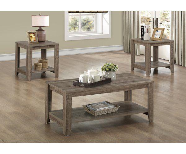 Wohnzimmer Tisch Set - Wohnzimmer Tisch-Set – Natur-Licht: Wieder .