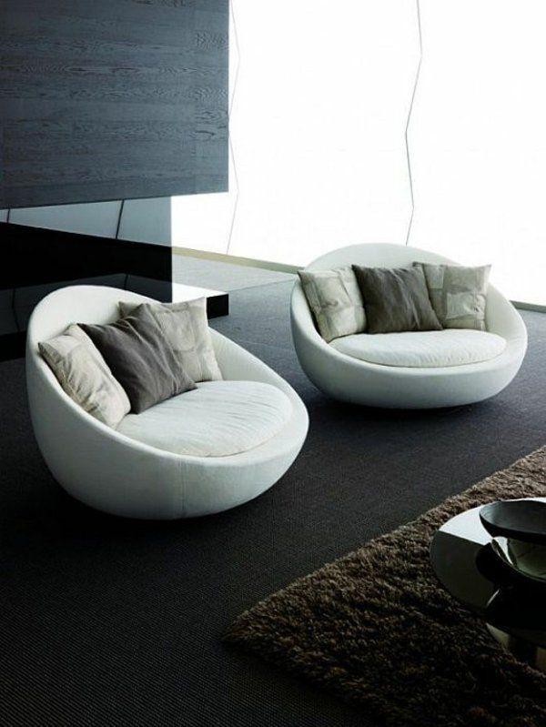 100 Einrichtungsideen für Moderne Wohnzimmermöbel .