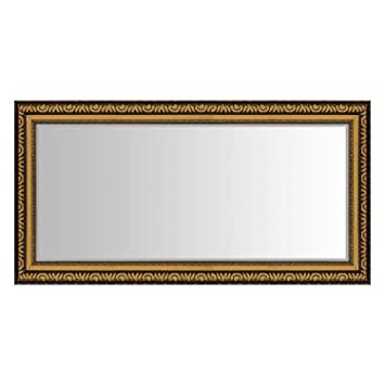 Wohaga® Spiegel mit Facettenschliff 104x53cm Wandspiegel .