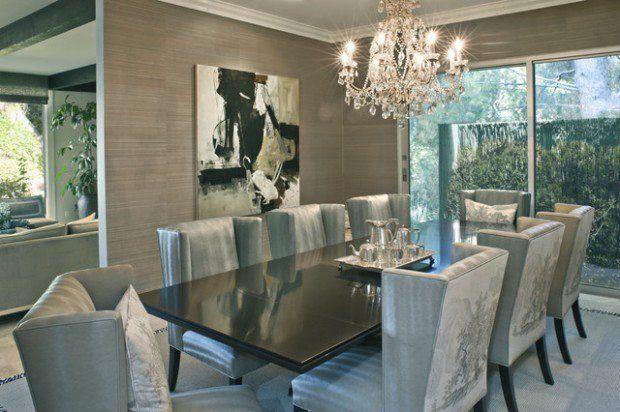 19 Luxus-Esszimmer in traditionellem Stil | Elegantes esszimmer .