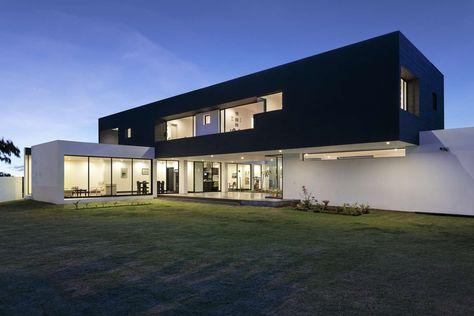 10 faszinierende zeitgenössische Häuser mit Eleganz und Raffinesse .