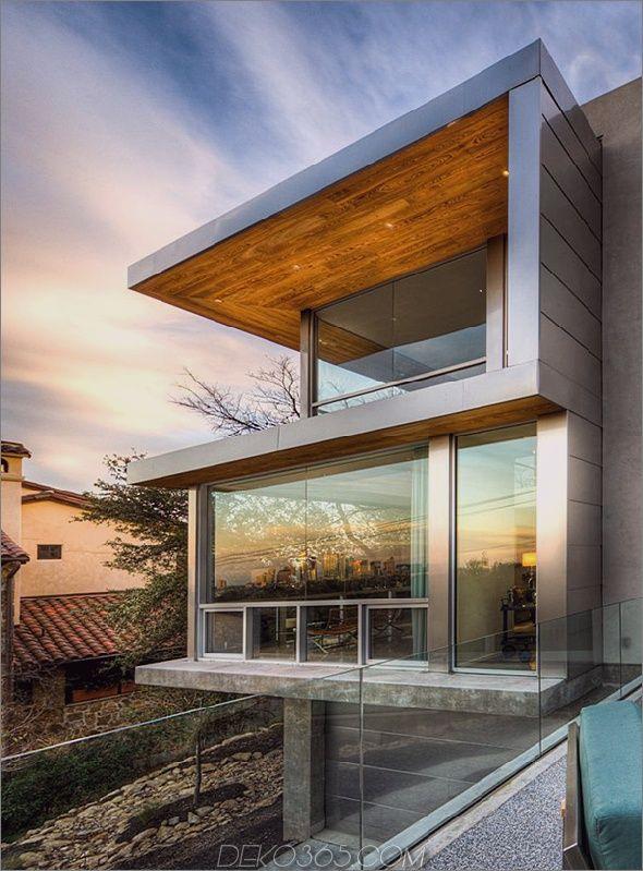 Schöne zeitgenössische Häuser - Passives Solarhaus in Texas .