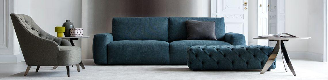 Zeitgenössische italienische Ledersofas | Italienisches sofa .