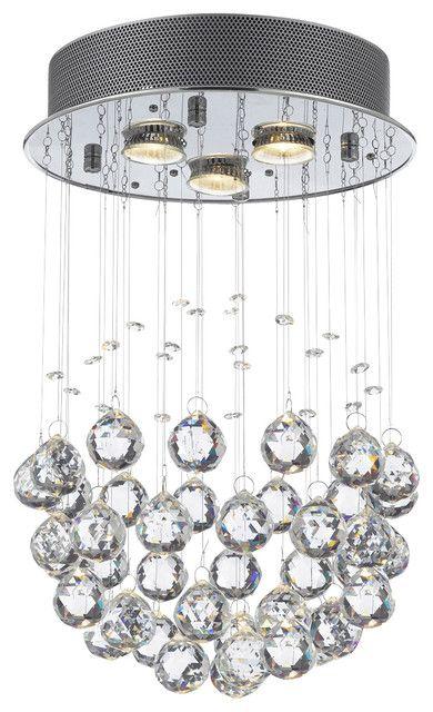 Brilliant Crystal Ball Kronleuchter Leuchte Raindrop Crystal Ball .