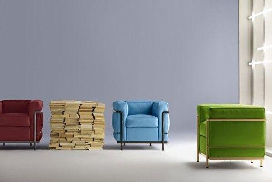 lc2 in color   Zeitgenössische möbel, Stühle und Produktdesi