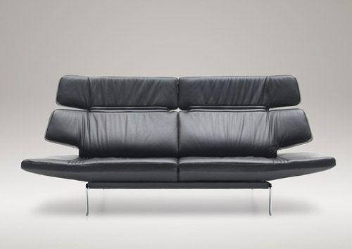 Leichte Sofa Couch von de Sede – einstellbar DS-480   Echt leder .