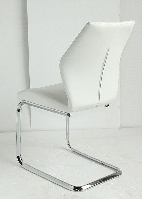 Zeitgenössische weiße Esszimmerstühle