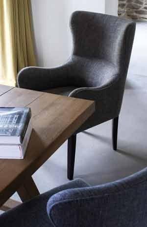 Zeitgenössische gepolsterte Esszimmerstühle – design.alternatib .