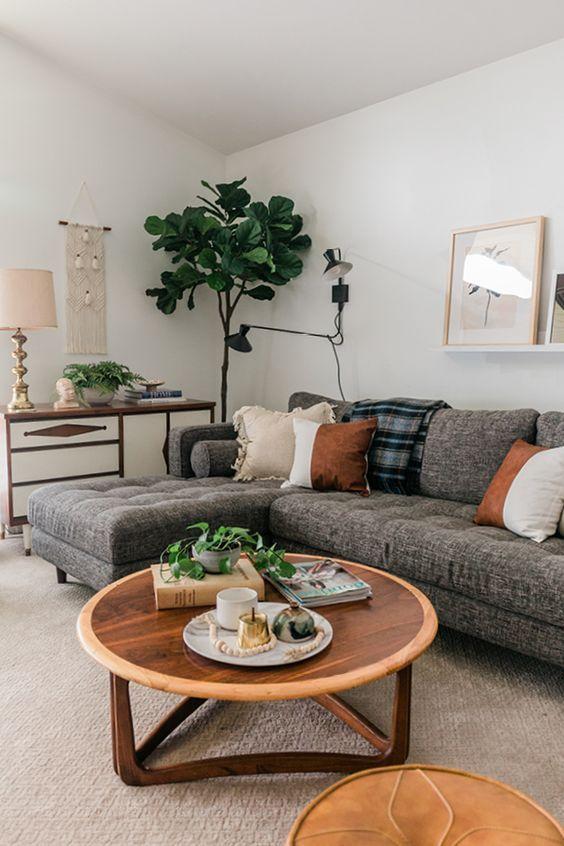 Sven Briar Gray Linkes Schnittsofa | Wohnzimmer dekor modern, Haus .