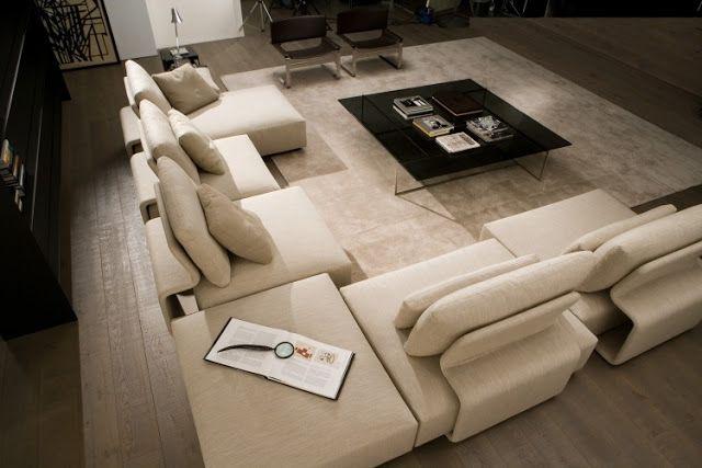 Zeitgenössische Sofas im XXL-Format | Einrichtungs Ide