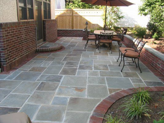Bluestone patio under the deck will be a project in the new future .
