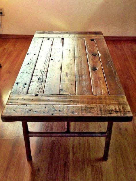 Zurückgeforderte Holzkreationen | Couchtisch holz, Holz kreationen .