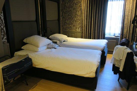 Doppelzimmer mit zwei Einzelbetten - Picture of Hotel Sint .