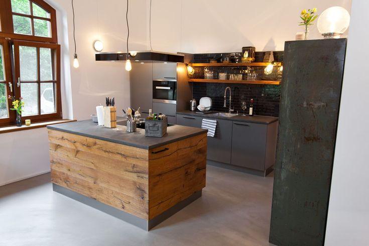 Küche: Wenn Landhausstil auf Moderne trifft
